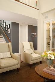 trim swiss coffee kelly moore living room transitional with round