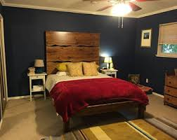Live Edge Headboard by Live Edge Bed Etsy