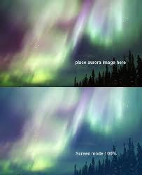 create a vivid winter aurora landscape photoshop tutorials