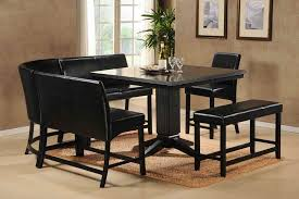 dinning kitchen table with bench dining table and 6 chairs dining
