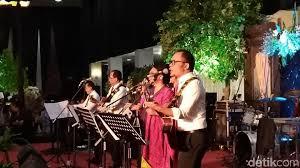 detik musik aksi panggung elek yo band grup musik menteri kabinet kerja