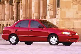 hyundai accent 4 door sedan 1995 99 hyundai accent consumer guide auto