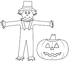 halloween scarecrow coloring sheets bootsforcheaper com
