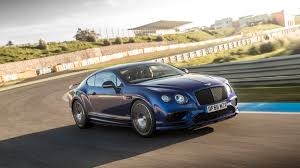 bentley convertible blue 2017 bentley continental supersports coupe and convertible first