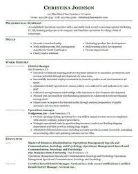 Example skills based CV Resume Genius