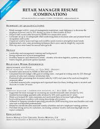 retail management resume retail manager resume sle writing tips resume companion