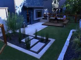 Small Contemporary Garden Ideas Modern House Landscape Design Ideas Seasons Of Home Small Backyard