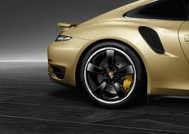 gold porsche 911 porsche 911 turbo gold 4 images bespoke 911 turbo unveiled by