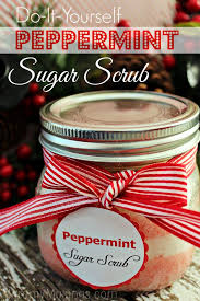 diy peppermint sugar scrub recipe jars sugar scrubs and