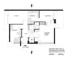 case study houses floor plans gerrit rietveld the schröder house the netherlands 1924 u2013 atlas