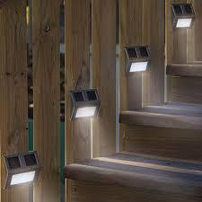 outdoor solar stair lights sacharoff decoration