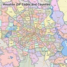 houston map with zip codes maptechnica zip code city county boundary maps geodata