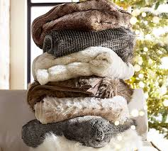 How To Make A Faux Fur Rug Faux Fur Throw Pottery Barn