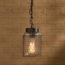 perfect chicken wire pendant light 44 with additional damp