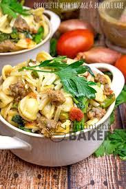 orecchiette with sausage u0026 broccoli rabe the midnight baker