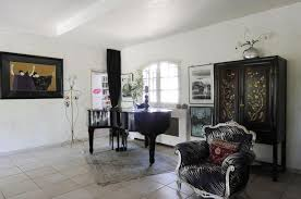 living modern french country grand piano black interior design