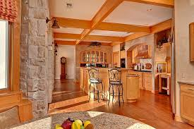 Craftsman Style Kitchen Lighting Kitchen Faux Finish Walls Recessed Lighting Craftsman Style