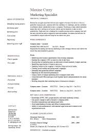 sample of qualification in resume skills to put on resume