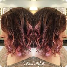 does hair look like ombre when highlights growing out ombre highlights go pink balayage babylights i do hair