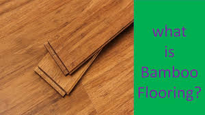 Bamboo Or Laminate Flooring What Is Bamboo Flooring All You Need To Know About It