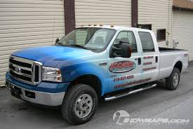 Ford F350 Truck - ford f350 truck wrap for well drilling business in pa