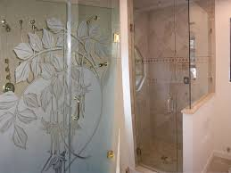 Etched Shower Doors Etched Glass Shower Doors21 Jpg