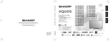 search sharp sharp lcd hdtv user manuals manualsonline com
