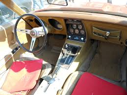 corvette stingray interior 1973 corvette c3 stingray convertible interior a photo on