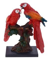 gifts n greetings home decor parrot showpiece buy gifts n