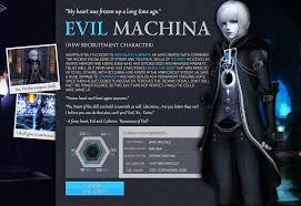 geeu evil machina u0026 kevin new character