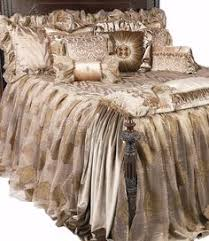 Romantic Comforters Luxembourg Bedding From Michael Amini Bedding By Aico Luxury