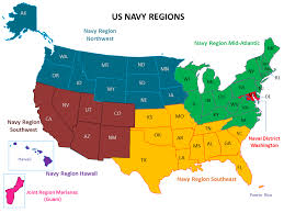 map us navy u s navy regions and points of contact