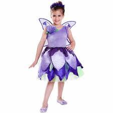 Flower Fairy Halloween Costume Bluebell Flower Fairy Child Halloween Costume Walmart