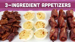 healthy 3 ingredient appetizers holiday recipe mind over munch