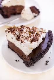 no bake chocolate cream pie baker by nature