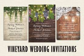 vineyard wedding invitations rustic country wedding invitations discount marriage invitations