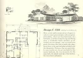 vintage house plans 1384 antique alter ego