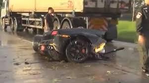 lamborghini crash worst lamborghini accident ever gt speed