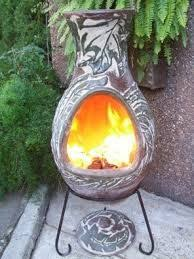 Clay Chiminea Bbq Rosas Clay Chiminea 89 99 Bbq And Heating Pinterest Clay