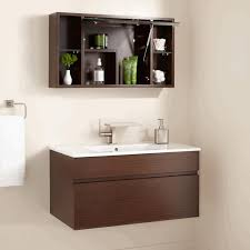 round bathroom vanity cabinets open shelf bathroom vanity oval porcelain vessel sink rectangular