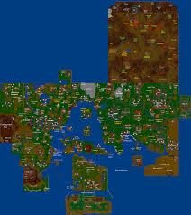 Oldschool Runescape World Map by Runescape Classic Map Adriftskateshop