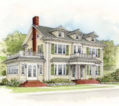 Dutch Colonial Revival House Plans by 1920s Colonial Revival House Plans Arts