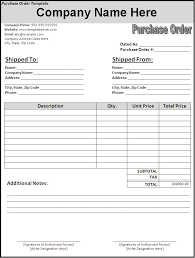 Free Purchase Order Form Template Excel Free 5 Simple Purchase Order Template Word Pdf Excel Social Ebuzz