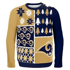 amazon com nfl busy block ugly sweater sports u0026 outdoors