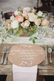 peach table runner wedding home table decoration
