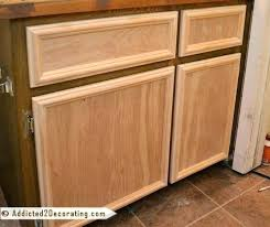 How To Make A Kitchen Cabinet Door Plywood Cabinet Doors Knotty Pine Shown In Diy Plywood Kitchen