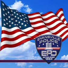 Cop Flag Evansville Police Evansvillepd Twitter