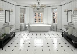 Retro Flooring by White Octagon Tile Flooring U2013 Thematador Us