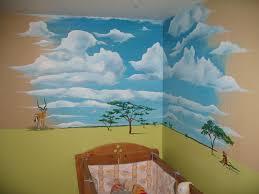 peinture chambre d enfant ciel chambre d enfant photo de chambre d enfants arts et peintures