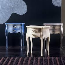 comodini foglia argento comodino a 2 cassetti carlino in legno arredaclick